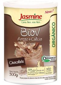 Biov Arroz+Cálcio Orgânico em Pó Jasmine 300g