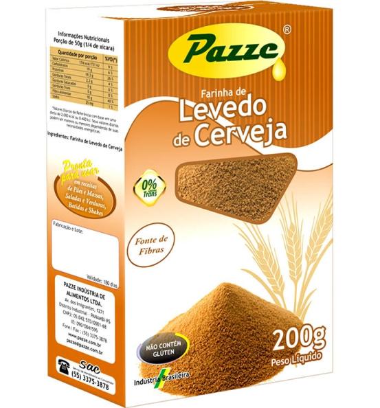 Farinha de Levedo de Cerveja Pazze 200g
