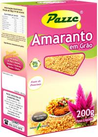 Amaranto em grão Pazze 200g