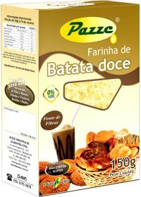 Farinha de Batata Doce Pazze 150g