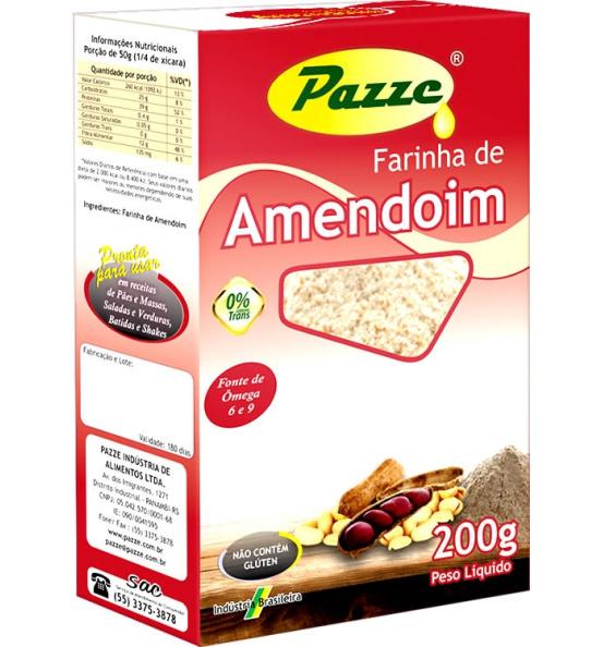 Farinha de Amendoim Pazze 200g