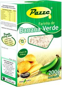 Farinha de Banana Verde Pazze 200g