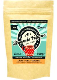 Brownie de Caneca Cacau + Chia + Gergelim Raiz Natural 100g