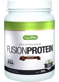 Fusion Protein Sabor Chocolate - Mix de Proteínas Vegetais - VeganWay Bionetic 900g