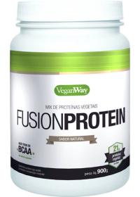 Fusion Protein Sabor Natural - Mix de Proteínas Vegetais - VeganWay Bionetic 900g