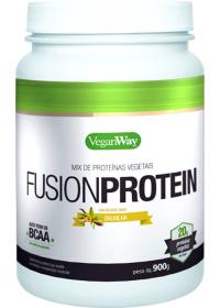 Fusion Protein Sabor Baunilha - Mix de Proteínas Vegetais - VeganWay Bionetic 900g
