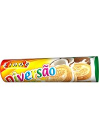 Biscoito Recheado Diversão Coco Liane 115g