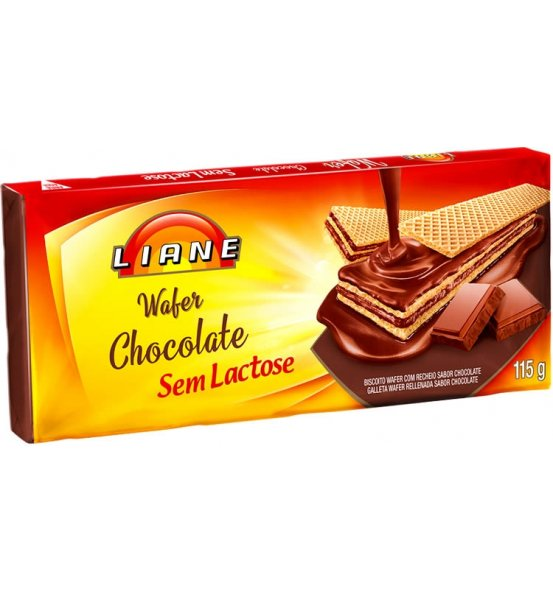 Waffer Chocolate Liane 115g