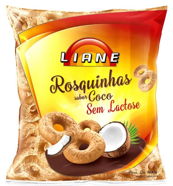Rosquinhas Coco Vitaminada Liane 400g