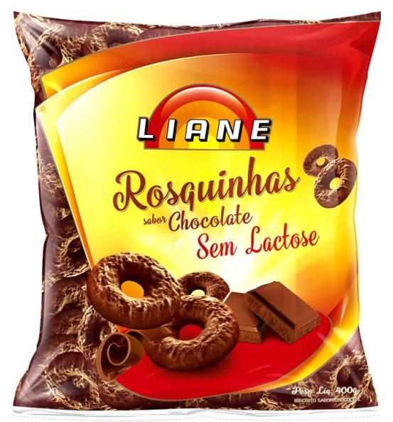Rosquinhas Chocolate Vitaminada Liane 400g