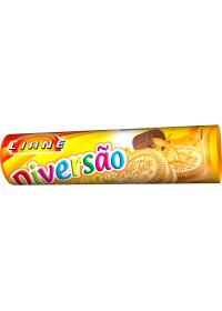 Biscoito Recheado Diversão Sabor Doce de Leite Liane 115g