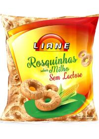 Rosquinhas Sabor Milho Vitaminada Liane 400g