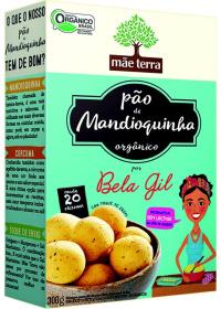 Mistura Orgânica para Pão de Mandioquinha Bela Gil Mãe Terra 300g