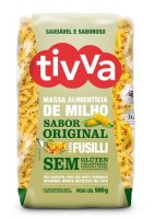 Massa de Milho Fusilli Sabor Original Tivva 500g