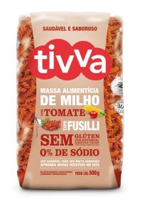 Massa de Milho Fusilli com Tomate Tivva 500g