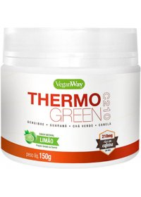 Thermo Green C210 Sabor Natural Limão Vegan Way Bionetic 500g