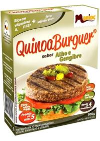 QuinoaBurguer Sabor Alho & Gengibre Manioc 100g