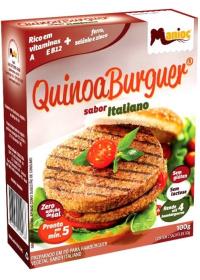 QuinoaBurguer Sabor Italiano Manioc 100g