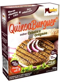 QuinoaBurguer Sabor Cebola & Orégano Manioc 100g