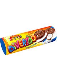 Biscoito Recheado Diversão Sabor Showcoco Liane 115g