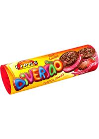 Biscoito Recheado Diversão Sabor Napolitano Liane 115g