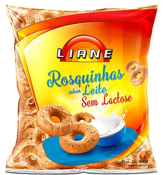 Rosquinhas Sabor Leite Vitaminada Liane 400g